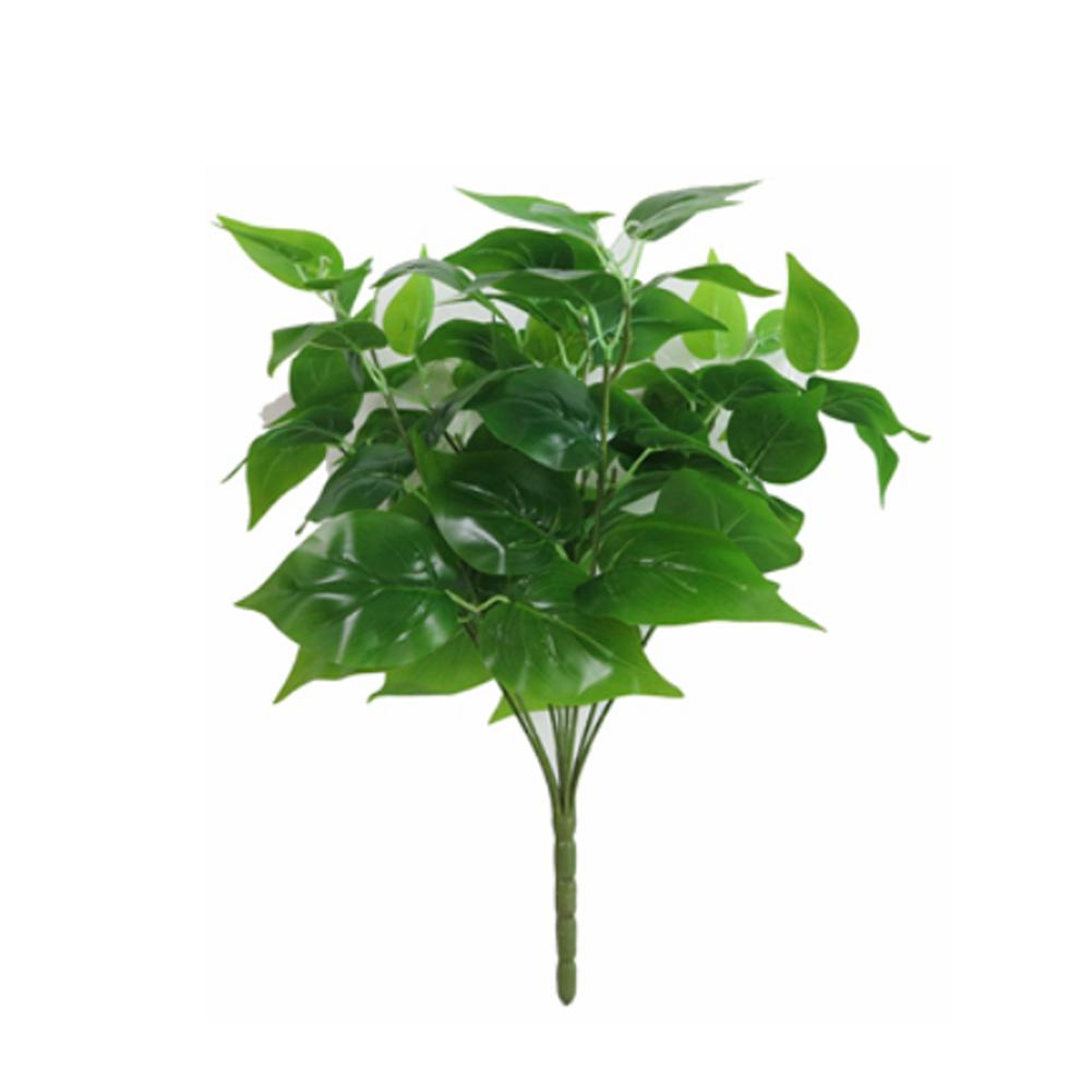 Artificial Verdura Epipremnum Aureum Uso multi simulação planta verde Imitação Fern Planta Para Jardim casamento Decoração Colo