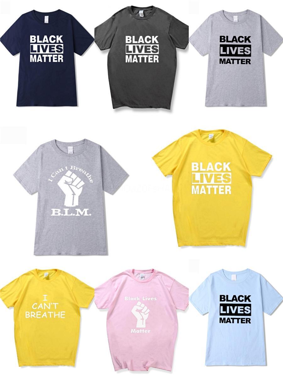 Я не могу дышать! Brands New Hip Hop Winter Мужские футболки с коротким рукавом 100% хлопок Poloshirt рубашки Мужчины Teel Hip 3G Конструкторы Мужские G T Рубашки # 72