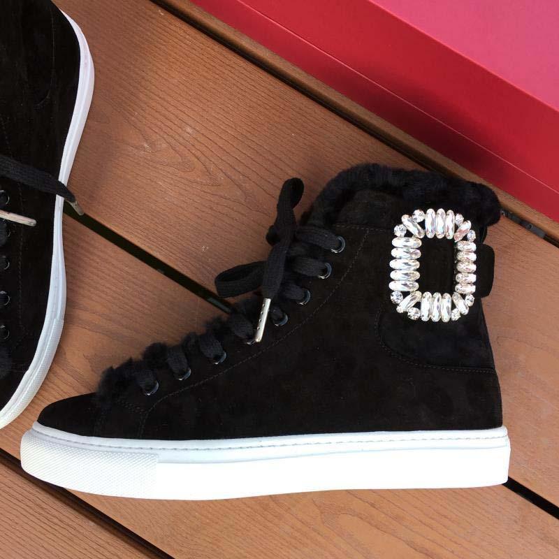 Горячие продажи-бренд обувь высокого качества шлифовать песок светоотражающая кожа двойной цвет сплайсинга овечий мех сохраняет тепло женская мода короткий ботинок