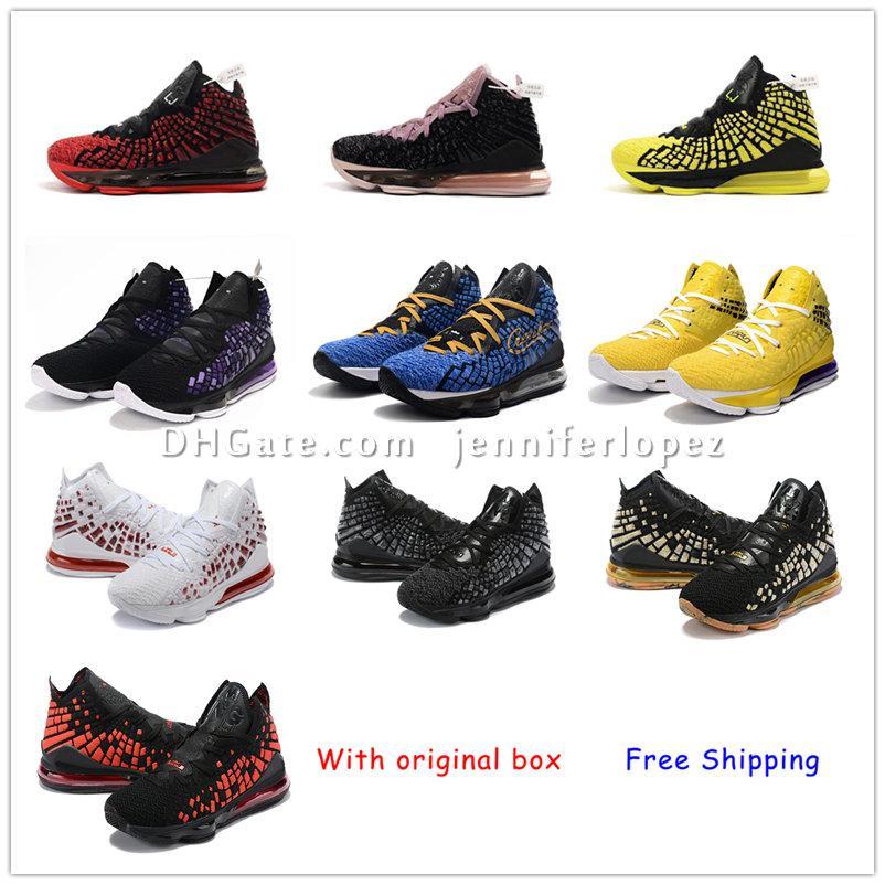 Дешевые новые мужские lebrons 17 XVII баскетбол обувь для продажи ретро Леброн Джеймс 17S MVP BHM Oreo детей женщин кроссовки сапоги Размер 40-46 jenniferlo