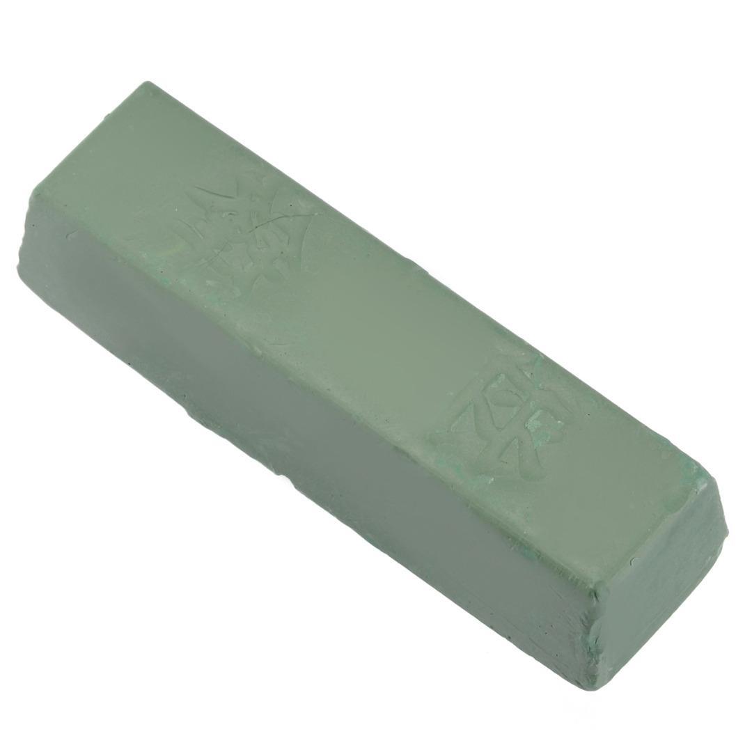 1Pc Зеленый / Белый Соединение Полировка паста Металл латунь Шлифовальный абразивный воск Полировка мыло Свечи