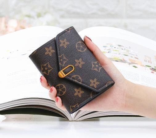 Moda Yeni Stil Kadın Avrupa ve Amerikan minimalist Retro kadın kısa paragraf küçük cüzdan kart paketi yeni moda mini çanta