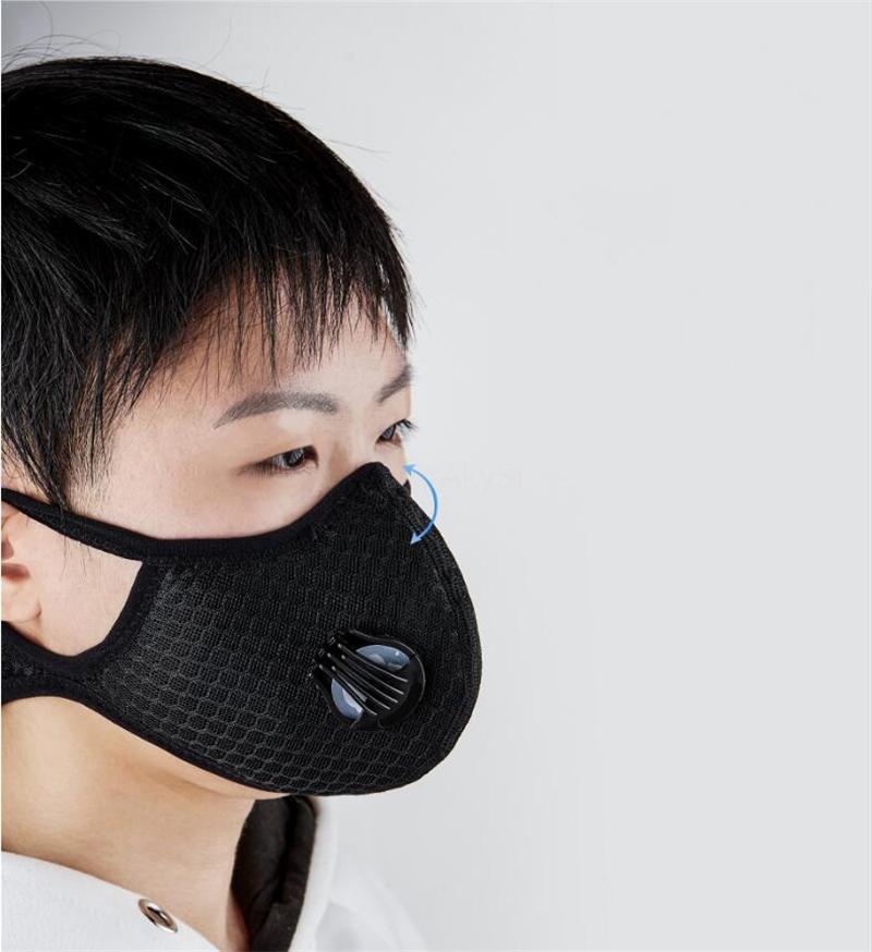 40 1PCS Yüz Olmayan Dokuma Maske Yedek Evrensel Koruyucu Yüz Conta Mat İçin Kf94 K # QA965 Maske