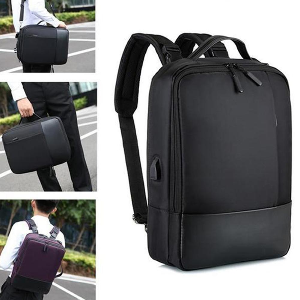 Designer-Men Women Single Shoulder Daily Work Zipper Anti-theft With USB Port Soft Tote Laptop Backpack Accessories Student Waterproof