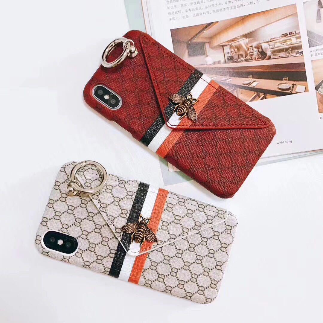 Новый IPhone 11 11pro X luxury case модный роскошный популярный мобильный телефон Shell Metal Bee Wallet задняя крышка чехол для IPhone xsmax xr 7/8 7 / 8plus