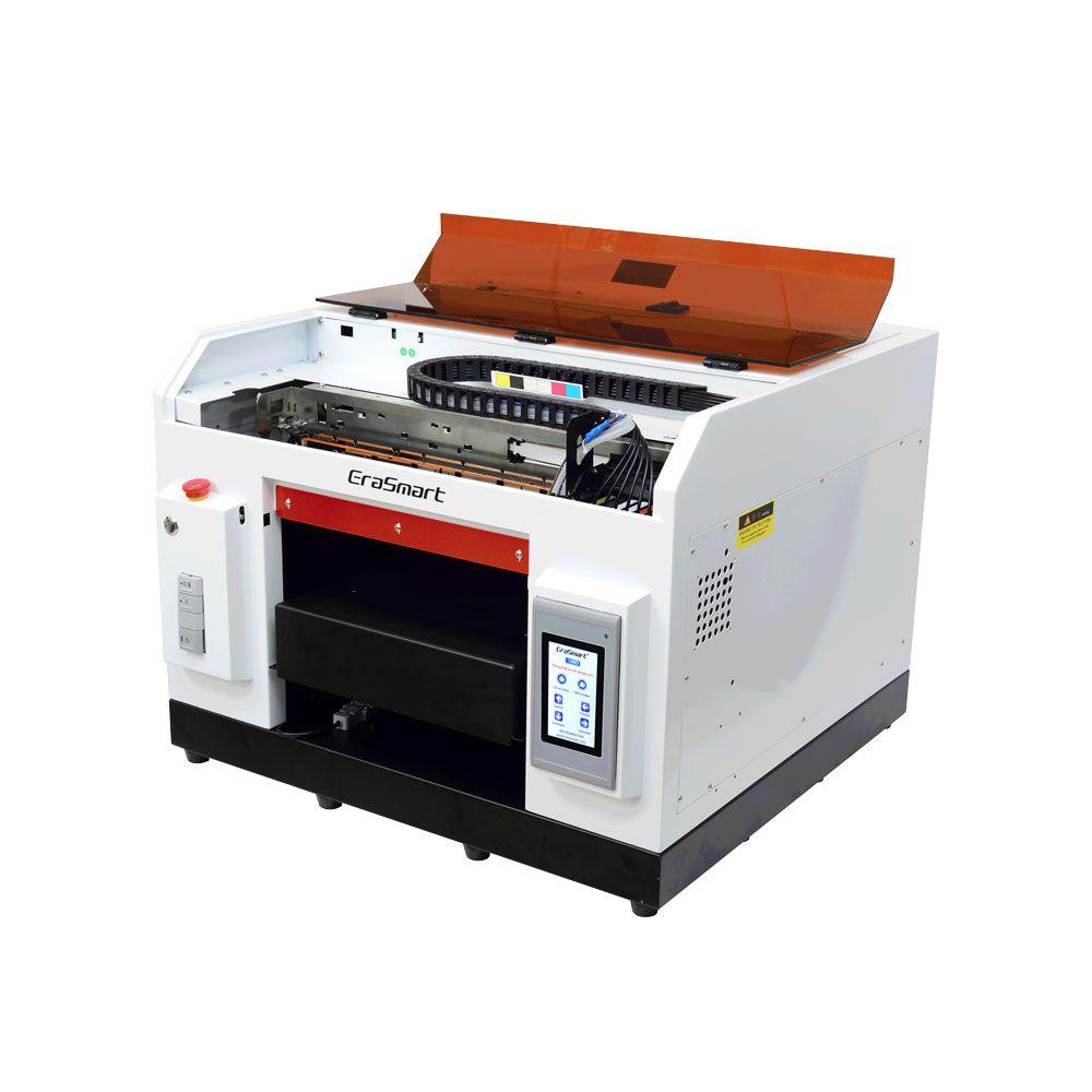 Impresora UV LED EraSmart Mini impresión de inyección de tinta A3 impresora plana UV para el caso móvil
