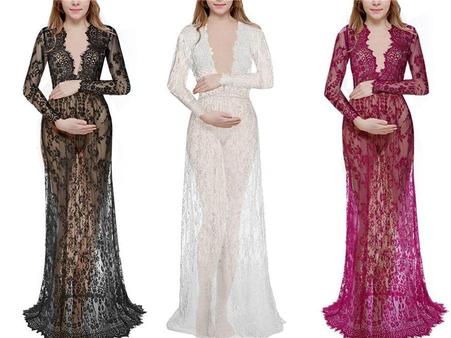 2020 Ülke Gelinlik V Yaka Dantel Aplike Uzun Kollu Gelinlik Katmanlı Tül A Hattı Elbise # 941