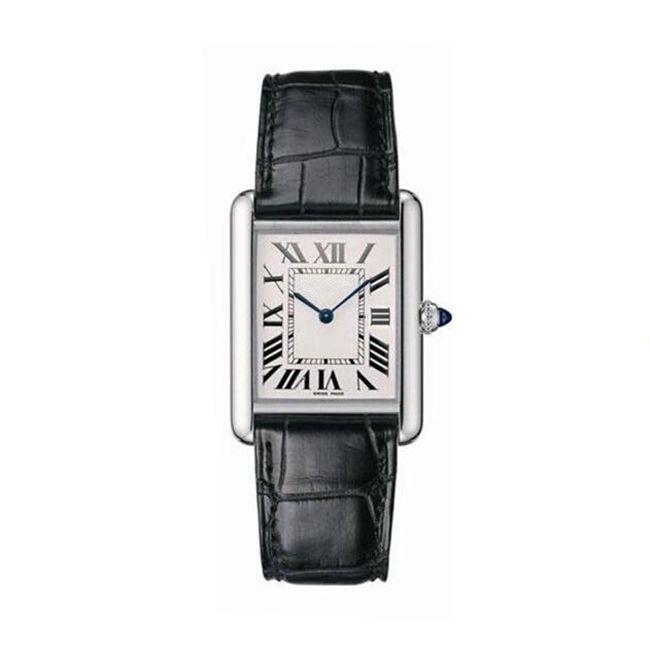 delle donne degli orologi Movimento al quarzo giapponese stile classico cinturino in custodia in pelle in acciaio inox profonda impermeabile montre de luxe
