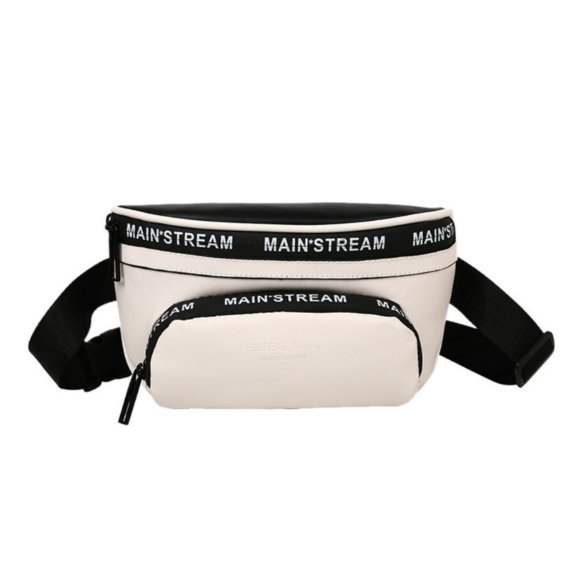 Nova saco da cintura Bloco de Fanny Unisex Belt Bolsas 2020 nova tendência no peito Packs nylon tórax sacos de material Hip Hop Package Bum Bags # 25