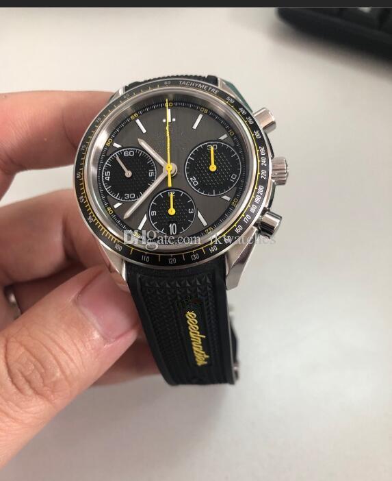 남자를위한 뜨거운 판매 호화로운 시계 남자 시계 스테인레스 스틸 쿼츠 시계 스톱워치 크로노 그래프 시계 371
