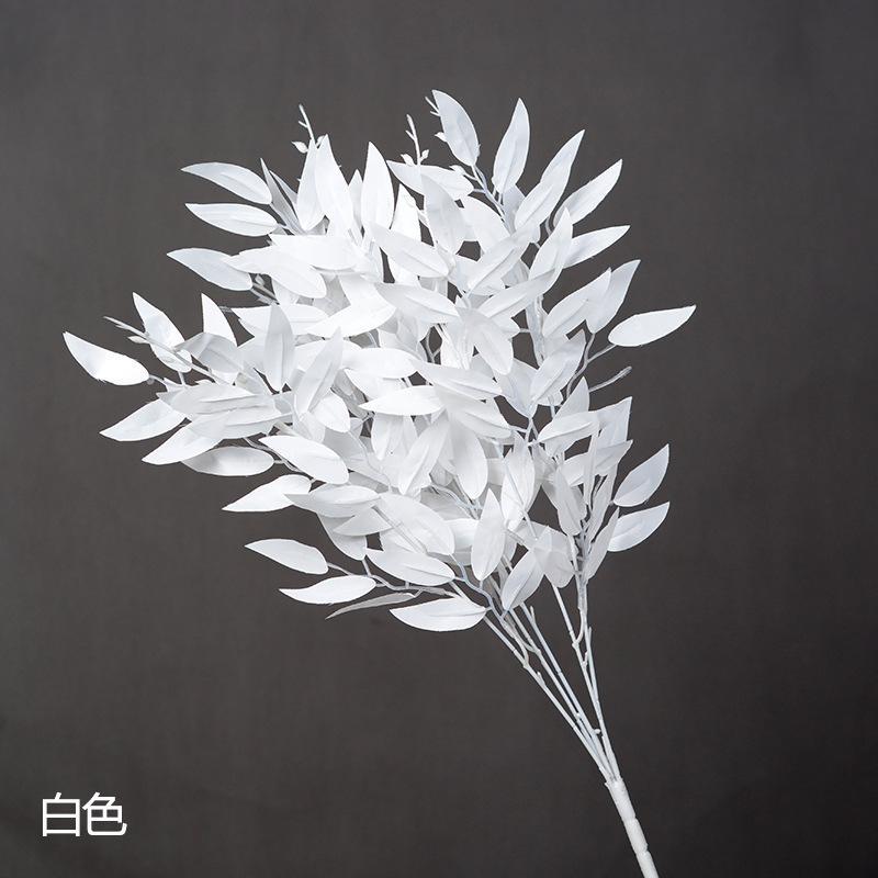 Bouquet de no/ël d/écoration de Mariage yaomo4981 Feuilles artificielles de Bouquet de Saule Artificiel