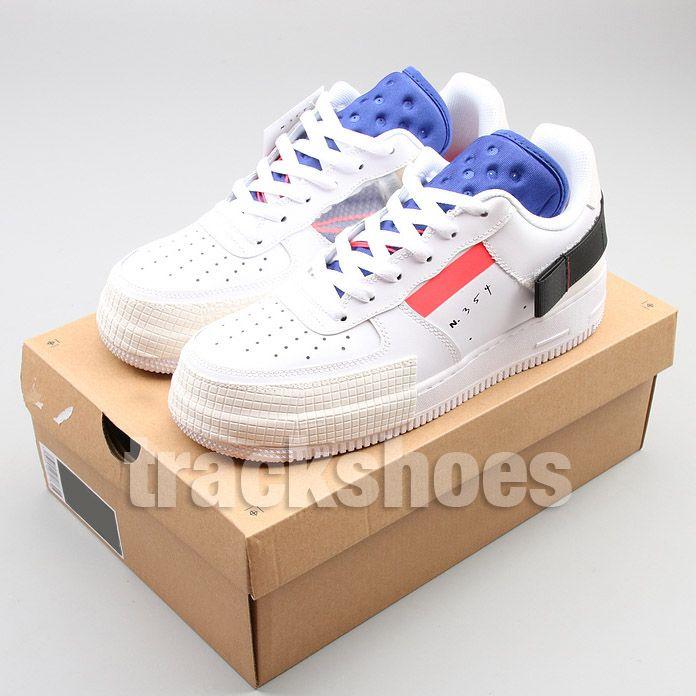 Nuevo 1 Tipo Zapatillas deportivas para hombre Diseñador de moda para mujer Zapatillas de deporte blancas N354 Zapatillas de deporte de baloncesto Pato negro 1s