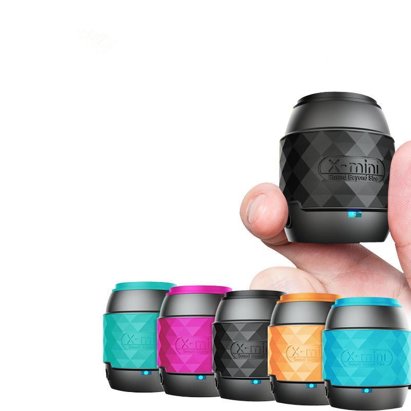 X-미니 무선 블루투스 스피커 서브 우퍼 휴대용 미니 오디오 야외 소형 스피커 휴대용 스피커 5 colorsdhl 무료