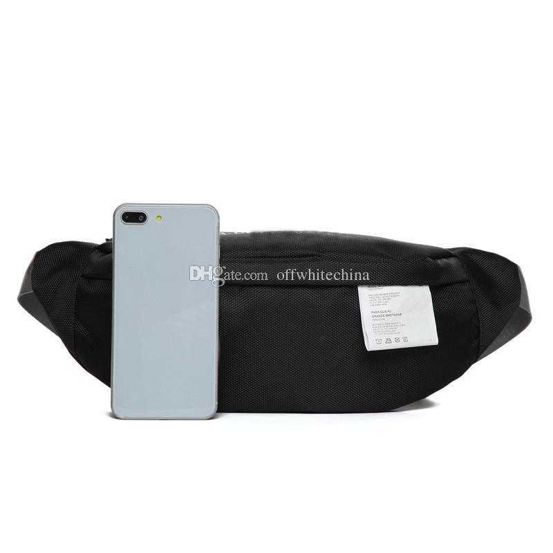 Famosa cintura Bolsas Bolsas estilista de la moda pechera Negro para mujer para hombre blanca Mini lindo bolsas de hombro
