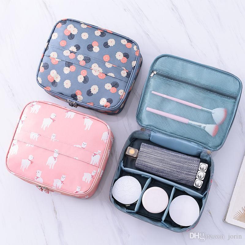 Bolso de artículos de tocador de Coreano a Portátil para viajar de la generación Cosmetic Go Bag Cosmetic Second Version Out Multifuncional BRAND-CAP VVDVJ