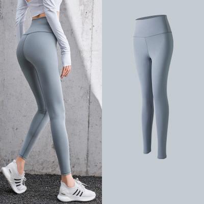 Womens Designer Pantalon de yoga Hip Leggings Fitness Sweatpants double face mola Nu danser le twerk taille haute Trackpants Vente chaude