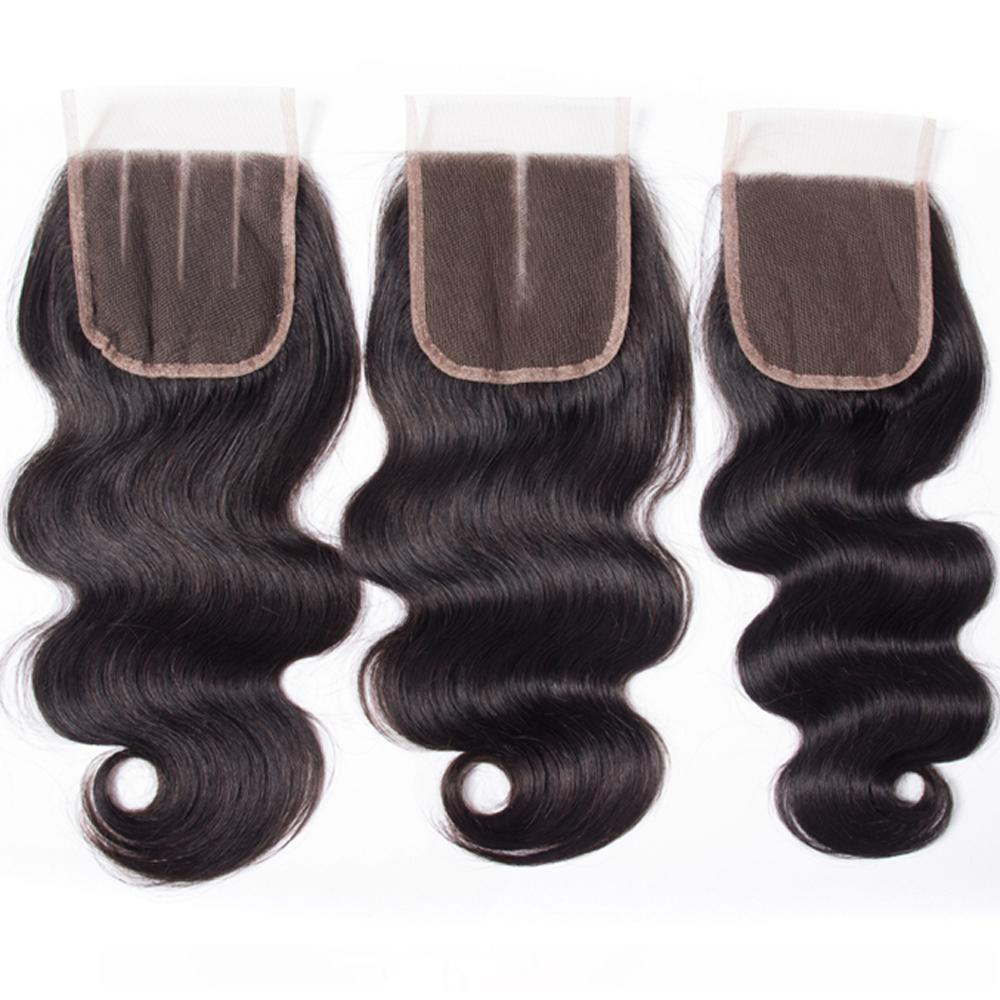 H 9a Peruvian Human Hair 3bundles With 4x4 Lace Closure Body Wave Straight Loose Wave Kinky Curly Deep Wave Brazilian Peruvian Maalaysi