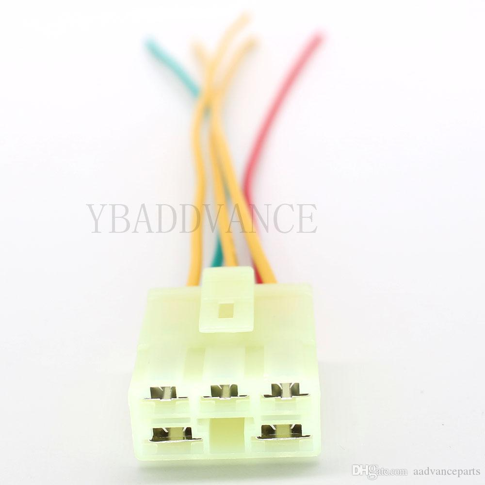 5P250-312 5 핀 전기 조절기 혼다 자동차 용 피그 테일 커넥터가 CBR600 CBR900RR CBR900 VFR750 CB400 VT