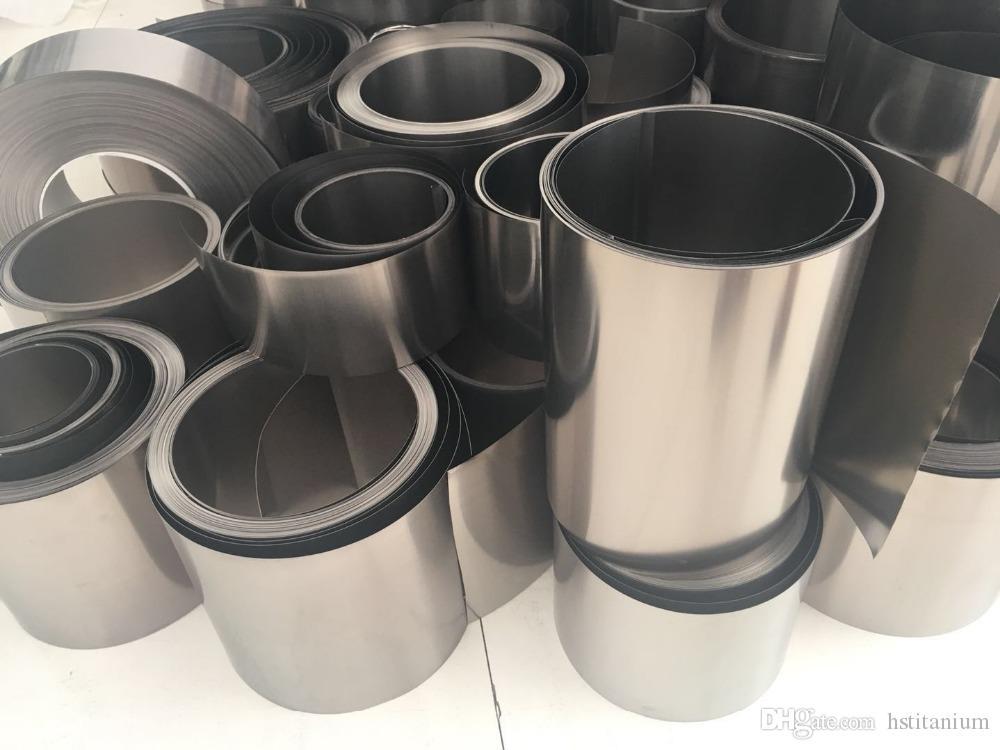 99.8% saflık kalınlığı 0.03mm 0.25mm 0.5mm titanyum folyo sıcak satış Yeni tasarım gr2 gr5