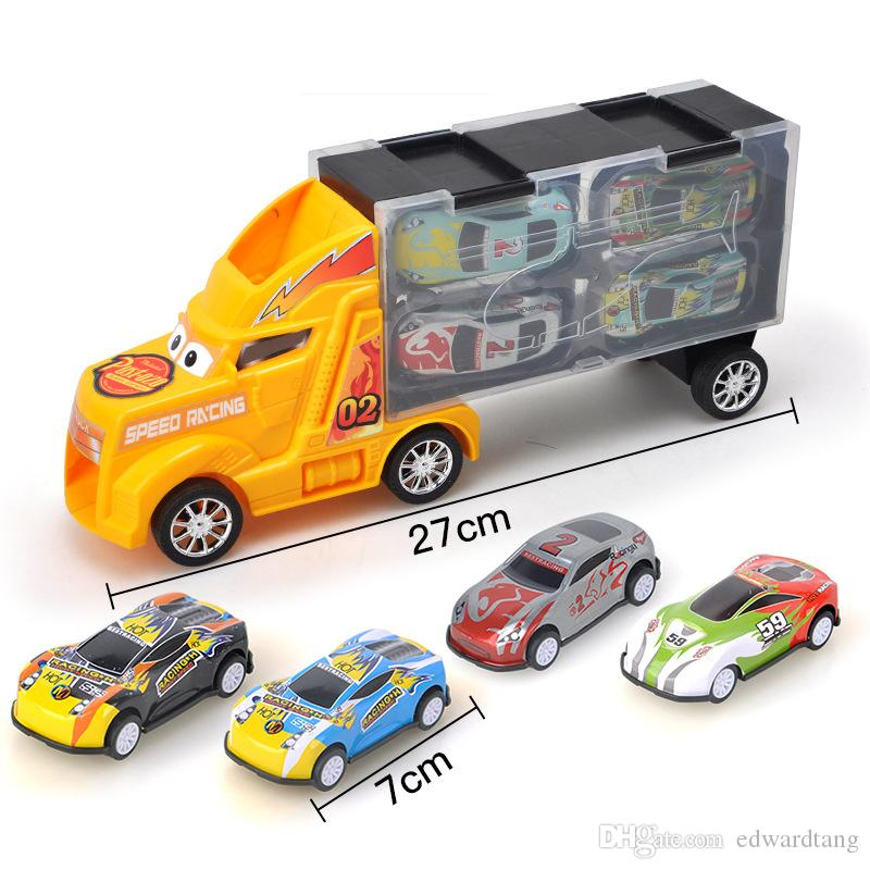 UK Mini Engineering Car Tractor Truck Cartoon Model Toy Car for Infant Kids