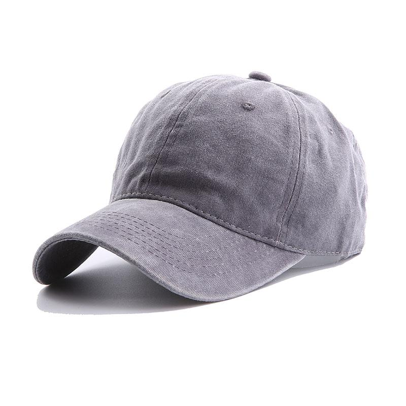 Retro Great White Shark Adjustable Flat Brim Baseball Caps Women Men Plain Cap