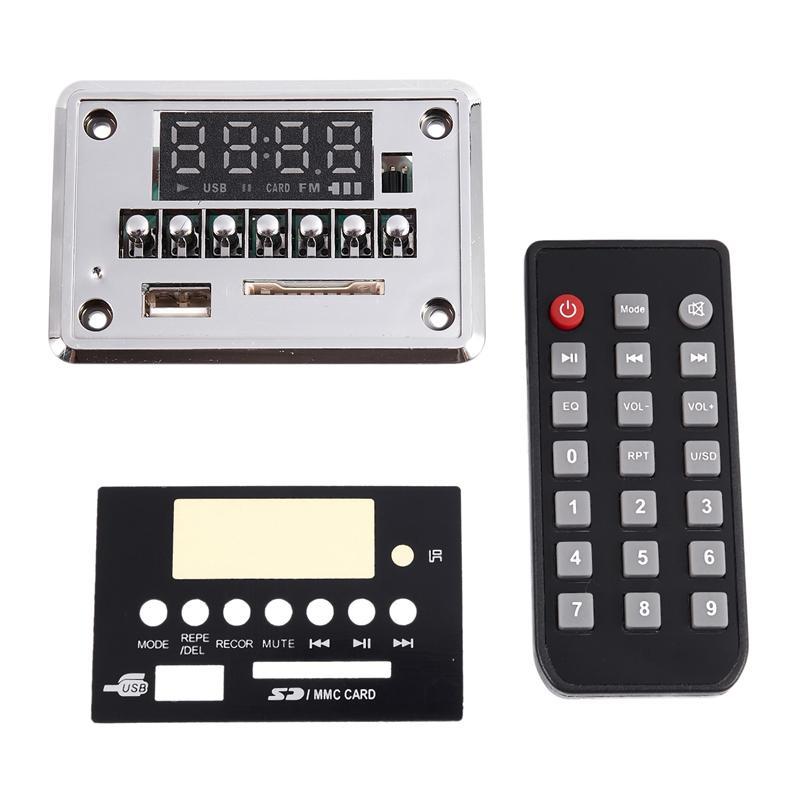 AABB-3.7-5V avec enregistrement Bluetooth 5.0 MP3 WMA WAV FLAC APE Audio Conseil décodeur