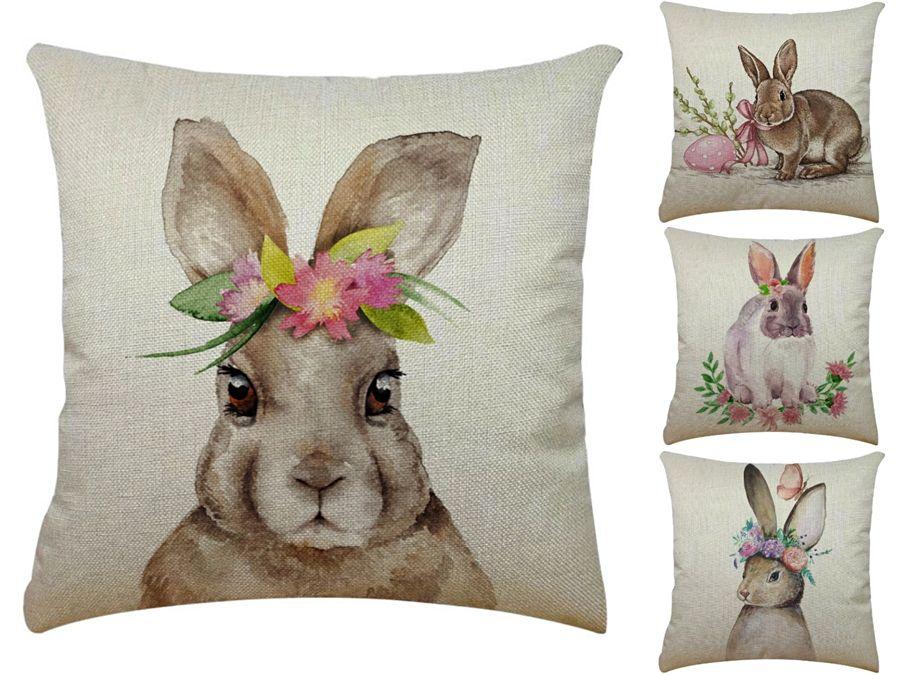 3D Shrimp U Shape Rabbit Pillow Creative Throw Rabbit Pillow Pepper Eggplant Plush Neck Cushion Soft Comfort Rabbit Pillow#820