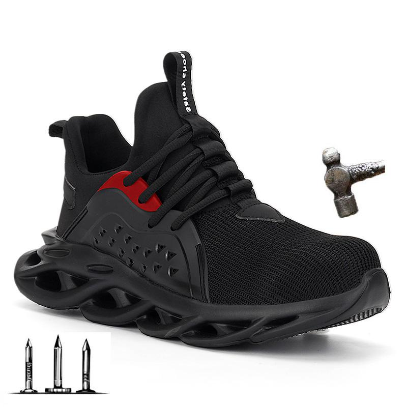 New Steel Toe Cap Men Safety Shoes Work