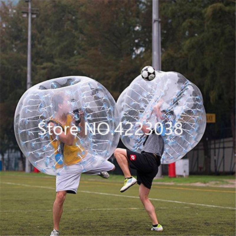 Бесплатная доставка 1.0 мм 100% TPU 1.5 м для взрослых надувной пузырь футбольный мяч бампер пузырь мяч надувной зорб мяч воздушные шары пузырь футбол