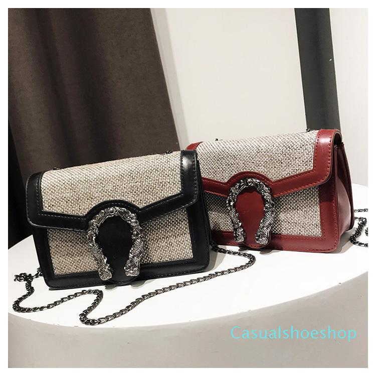 Top Luxus-Designer Umhängetaschen Fashion Damen Umhängetasche Kette Messenger Bag Leder Damen Handtaschen Totes Geldbeutel Verschiedene Stile