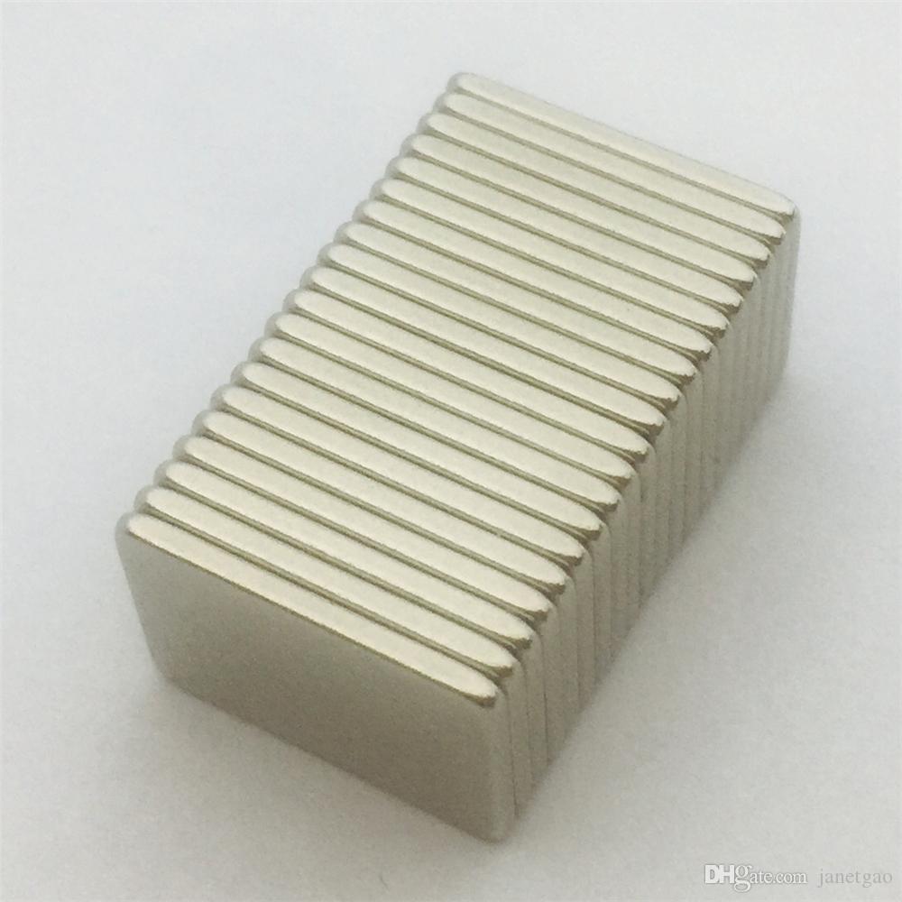 20шт 15x11x1. 2mm совершенно новый редкоземельный супер сильный N52 неодимовый постоянный магнит блок 20шт / УП blk15x11x1.2mm, Бесплатная доставка