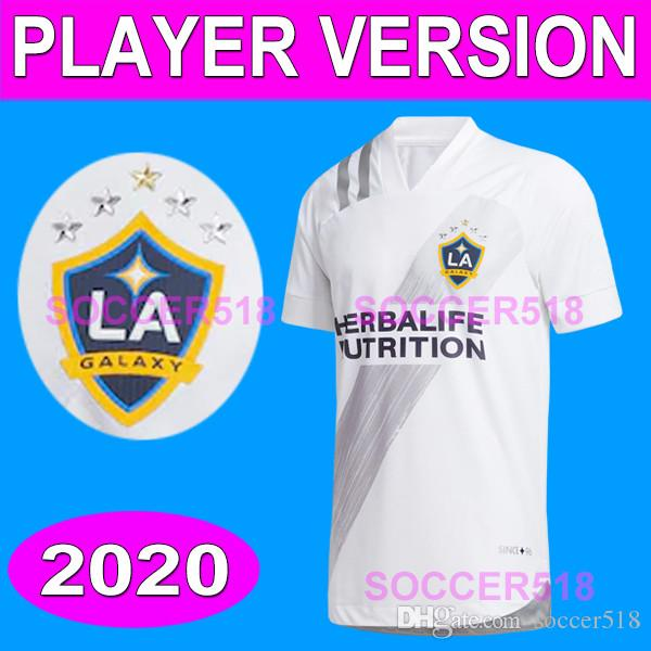 La Galaxy 2020 2021 Chicharito Player версия Sergio Ramos Rashford футбольные футболки Beckham Vela H. Lozano Player версия футбол