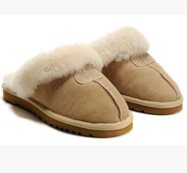 Hot Sale-Warm Baumwolle Hausschuhe Männer und Frauen Pantoffeln kurze Stiefel Frauen Stiefel Schneeschuhe Designer Indoor Baumwolle Pantoffeln
