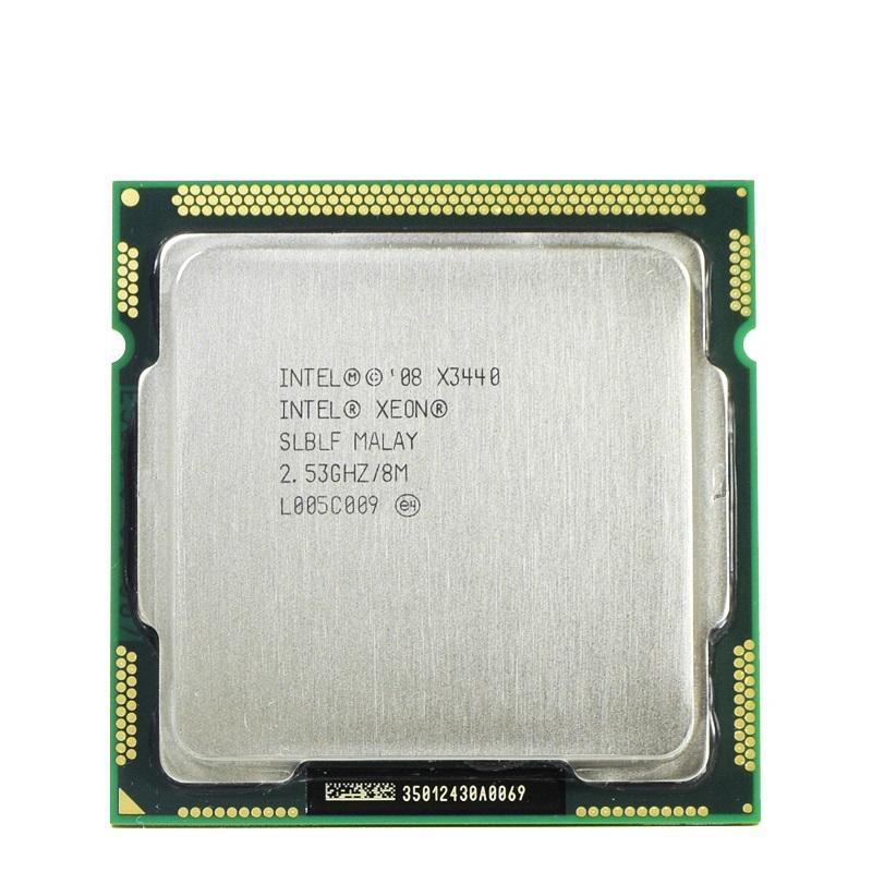 Intel Xeon X3440 Processeur Quad Core 2,53 LGA1156 8M Cache 95W CPU de bureau
