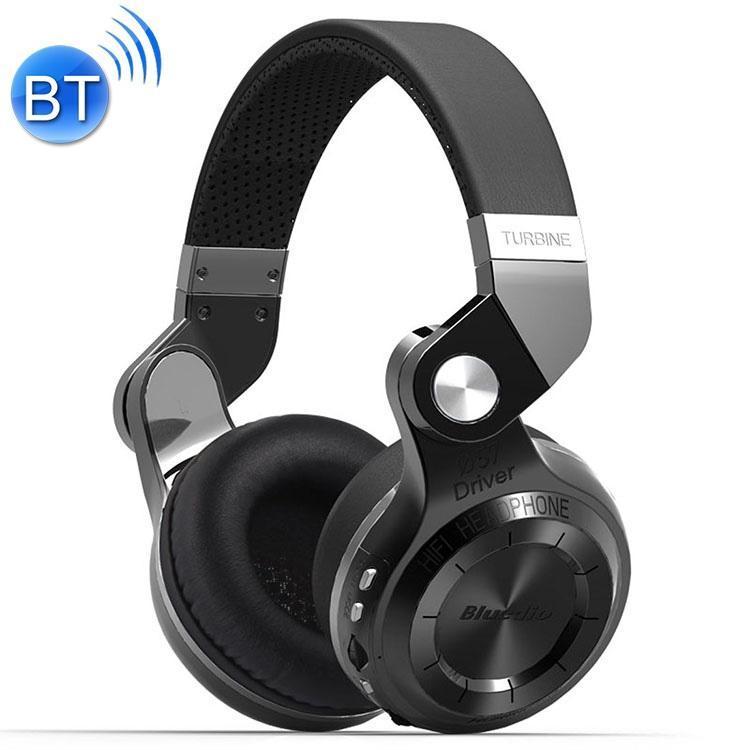 아이폰, 삼성, 화웨이를 들어 마이크 마이크로 SD 카드 슬롯 FM 라디오와 Bluedio T2 + 터빈 무선 블루투스 4.1 스테레오 헤드폰 헤드셋,