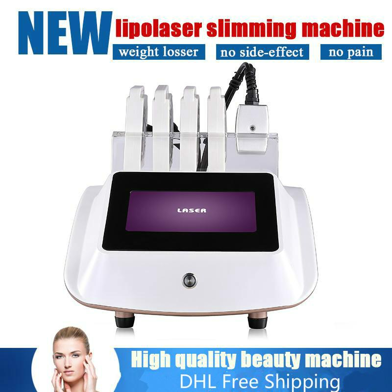 Réduction des matières grasses à faible niveau Laser thérapie pour la perte de poids 650nm Diode Laser Fat Burning Amincissant Laser Machine / Lipo