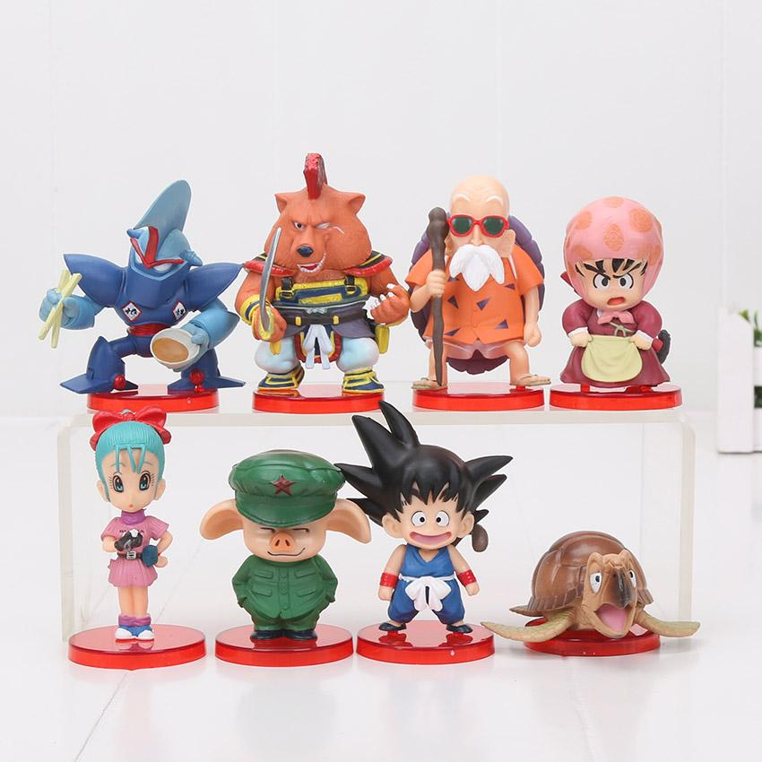 Dragon Ball Z Master Roshi /& Oolong PVC Figures Set Anime Model Toy New in Box