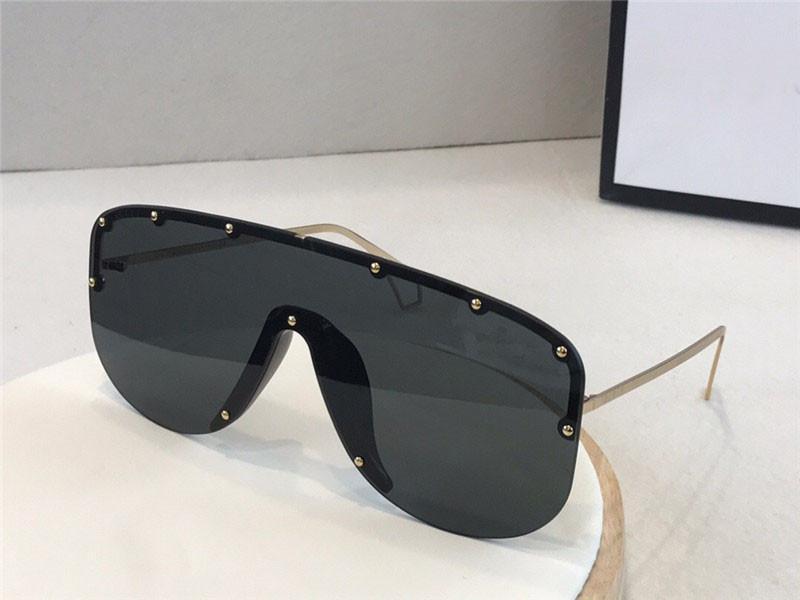 Nuovo stilista occhiali da sole classici piazza frameless 0667 occhiali di alta qualità stile popolare best-seller occhiali protettivi