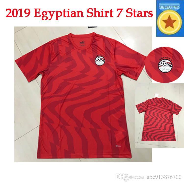Тайская версия чемпионата мира 1920 года 7 звезд египетского дома M.SALAH футболка 2019 2020 Мохаммед Сала мужская футболка с короткими рукавами A