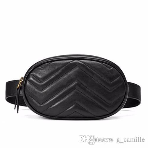 Mulheres Saco de cintura Mini Bolsa de Correia Redonda Bolsa De Moda Couro Quilted Fanny Pack Casual Senhoras Crossbody Travel Chap Bag