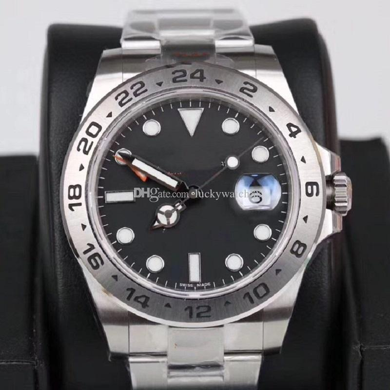 Limited sale Watch Men Automatic Mechanical GMT 42MM Dial Sapphire Crystal Bezel Waterproof 316L stainless steel Watch