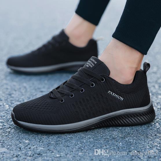 Nuevos zapatos casuales de los hombres zapatos deportivos de moda de primavera y otoño, cómodos zapatos con diseño antideslizante para hombres de la juventud, 3 colores de envío gratis