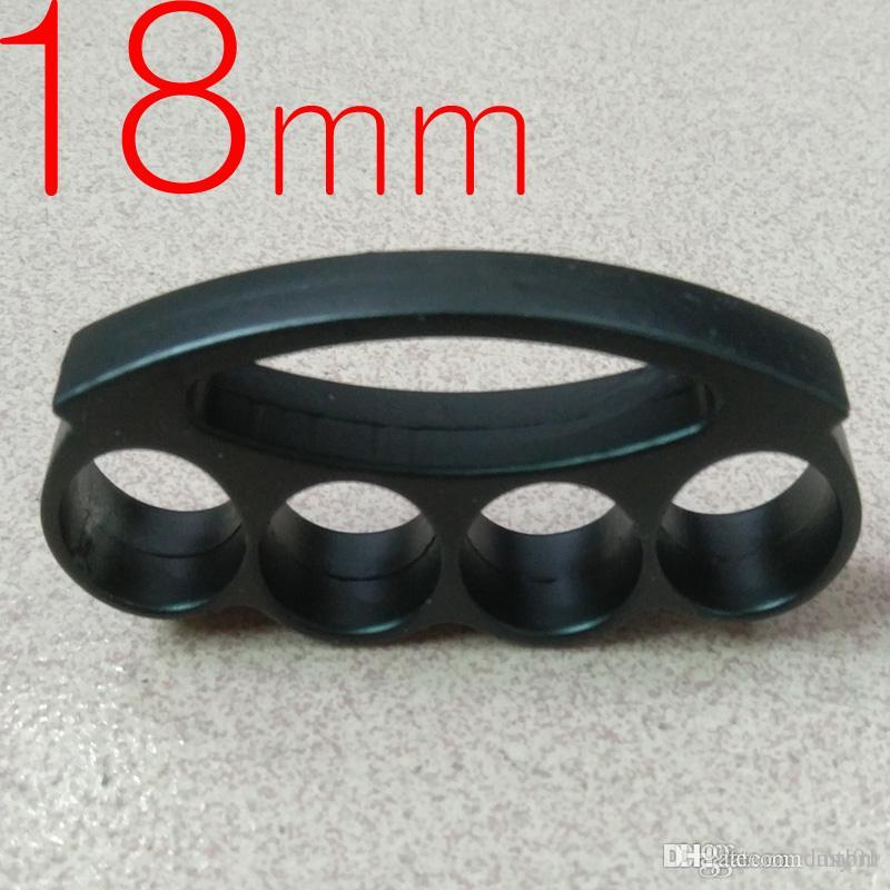 Anel grosso e pesado BRASS aço 18 milímetros JUNTA ESPANADORES fivela de fecho mão poderosa Prático para transportar 1pc