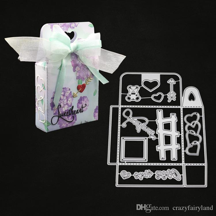 Metal Cutting Dies Stencil Scrapbook DIY Album Paper Card Embossing Crafts Gifts