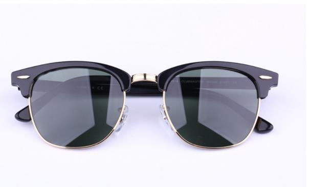 Gros-AOOKO Designer Pop Club Lunettes de soleil Mode Hommes Lunettes de soleil rétro femme vert G15 gris brun noir lentille mercure nouvelle charnière 49mm 51mm