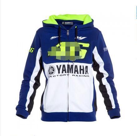 2020 YAMAHA سباق الملابس دراجة نارية عشاق السيارات القطن المطبوع سترة فارس عارضة سترة هوديي