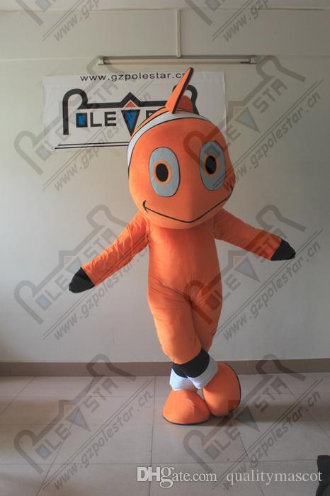 البرتقال التميمة جودة الأسماك نيمو الأسماك الذهب الحيوانات المائية الممثل المشي ازياء نجمة القطب التميمة