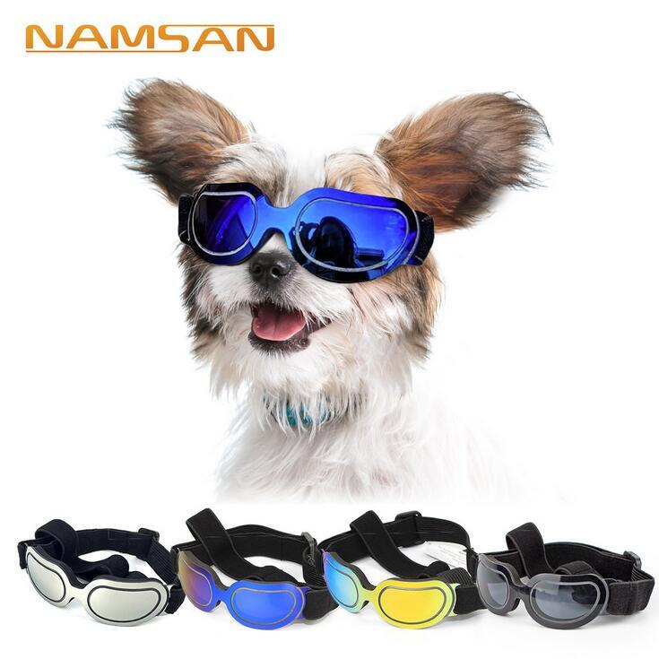 Applied Pet Dog UV Protection Sunglasses Sunscreen Goggles Eye Wear For Medium Large Dog Waterproof Windproof Swimming Skating Sunglasses