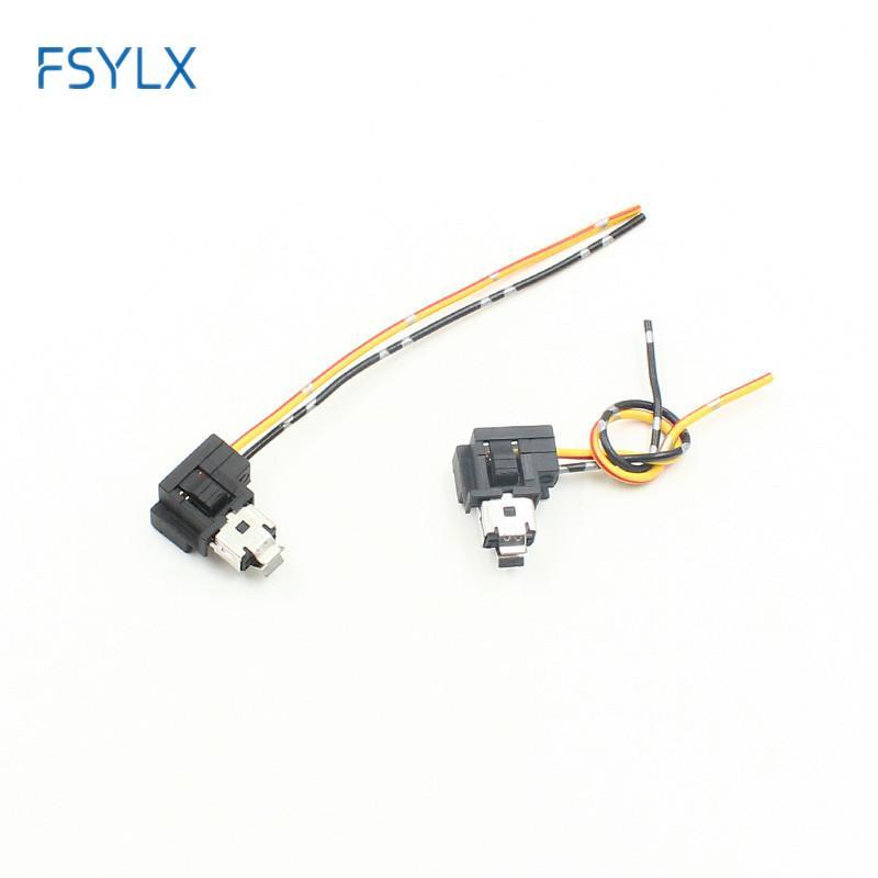conector do adaptador do fio de extensão encaixe conector lâmpada de halogéneo de h1 ficha de alimentação FSYLX 2X h1 para suportes para lâmpadas de halogéneo bulbo Tomada