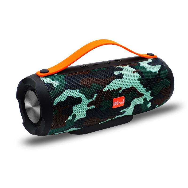 Портативный беспроводной Bluetooth Speaker Stereo большой теплоэнергетики 10Вт TF FM-радио Музыка Сабвуфер Колонка Динамики для компьютера